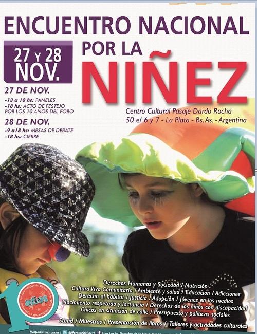 Encuentro Nacional por la Niñez id